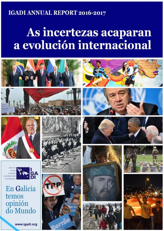 IGADI Annual Report 2016-2017, As incertezas acaparan a evolución internacional